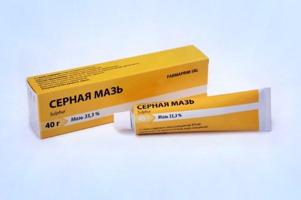 Инструкция по применению Серной мази при кожных заболеваниях