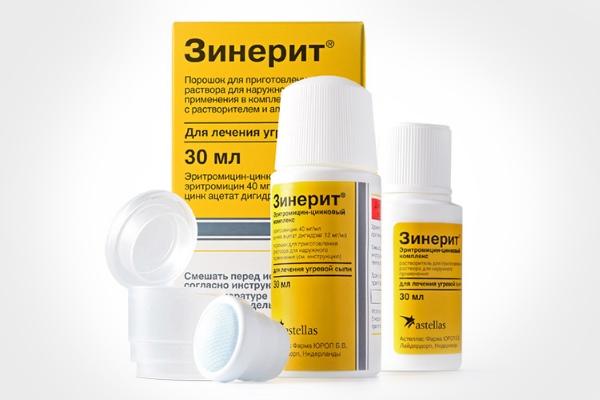 Зинерит – цена, отзывы дерматолога, инструкция по применению