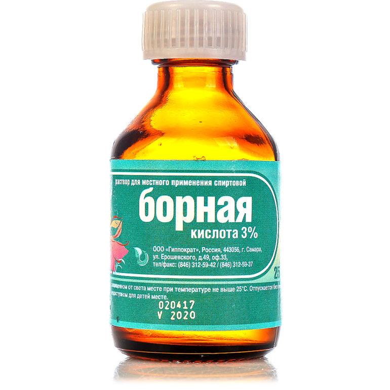 Борная кислота при экземе эффективно ли лечение