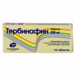 Тербинафин в таблетках