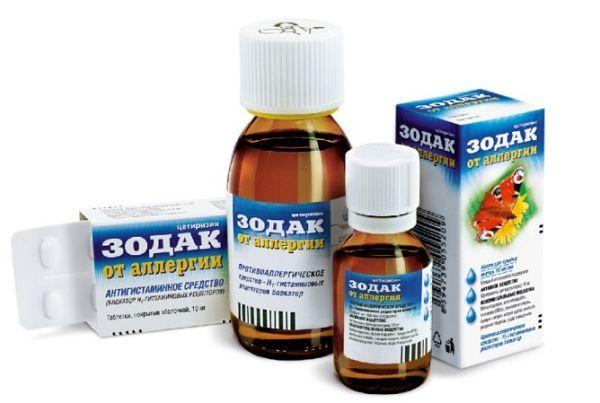 Зодак от аллергии: инструкция по применению капель и таблеток, сколько стоит?