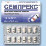 Семпрекс таблетки