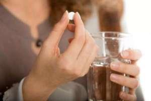 принять таблетку